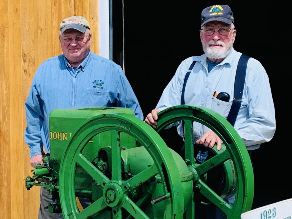 The Present Meets the Past at the Maine Antique Power Association