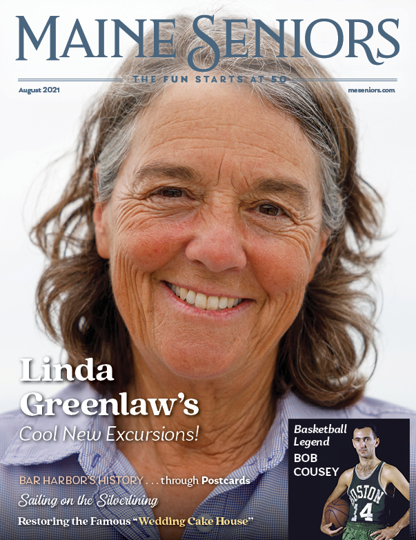 Check Out the August Maine Seniors Magazine Cover!