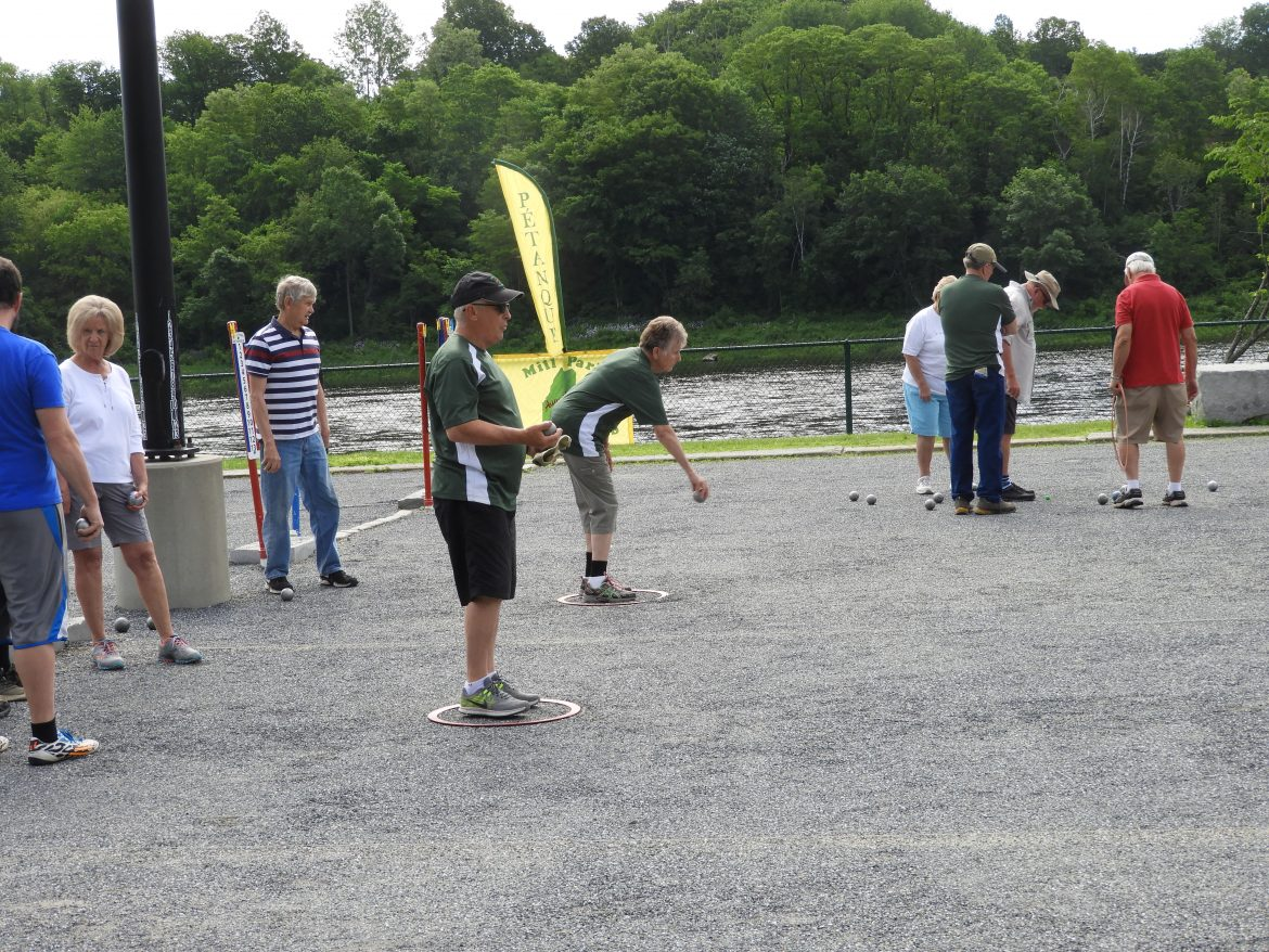 Petanque Grows in Popularity in Maine's Capital
