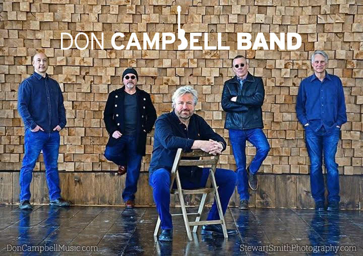 Don Campbell Band Makes Huge Comeback in 2021!